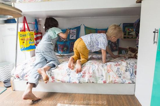 子供とタイニーハウス