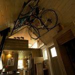 自転車のあるタイニーハウス