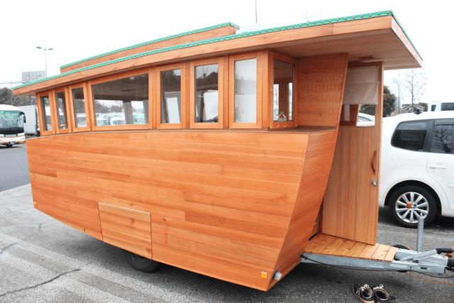 木製キャンピングトレーラーBaske-T 60