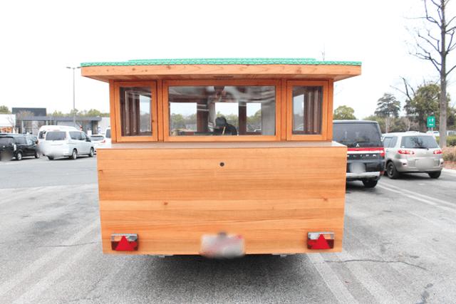 木製キャンピングトレーラーBaske-T 60-外観
