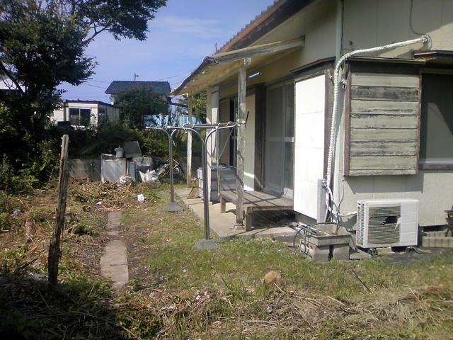 千葉県館山市-中古戸建-庭