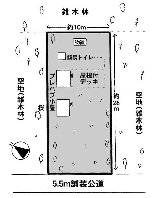 栃木県那須塩原市-中古戸建-プレハブ-間取り