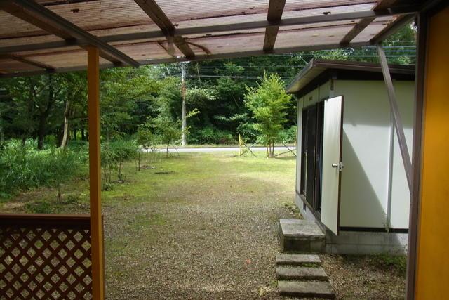 栃木県那須塩原市-中古戸建-プレハブ-庭