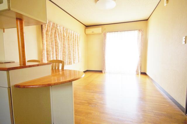 栃木県足利市-中古戸建て-赤い家-カウンターキッチン