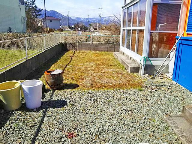 滋賀県高島市-中古戸建て-オレンジハウス-庭