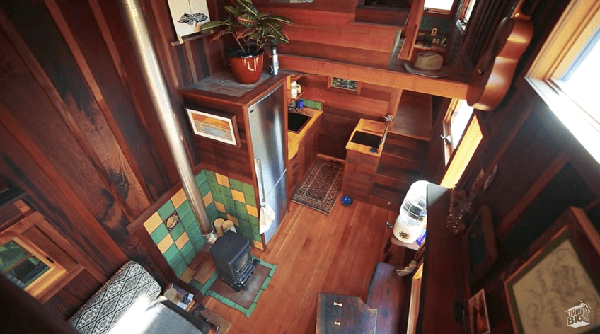 持続可能なタイニーハウス