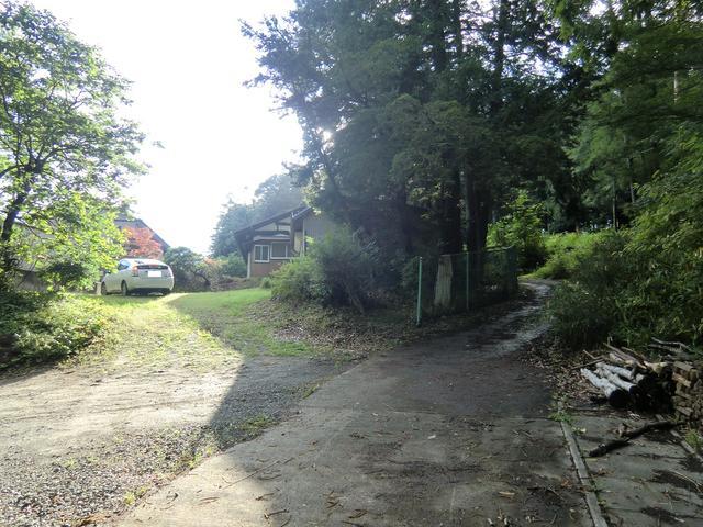 山梨県北杜市-中古戸建て-平屋-庭