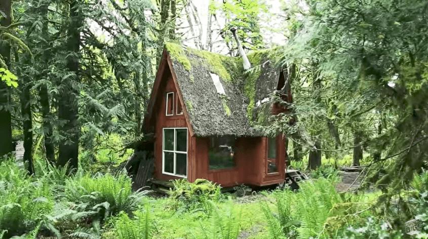 絵本の中のようなタイニーハウス