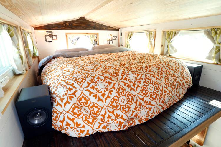 タイニーハウス寝室