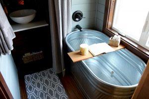 タイニーハウスのお風呂ってどうなってる?