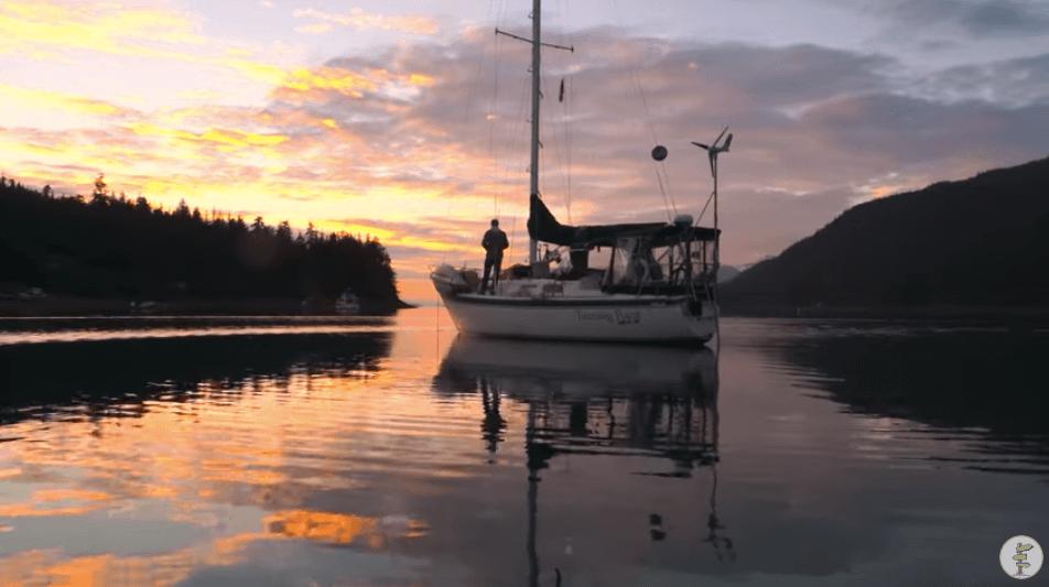 セイルボートでの生活