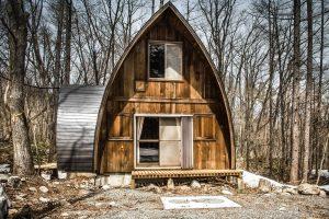 外観だけでワクワクするログハウス(長野県白馬村)/Airbnb
