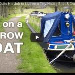 運河でのボート生活
