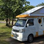 軽キャンピングカー-テントむし