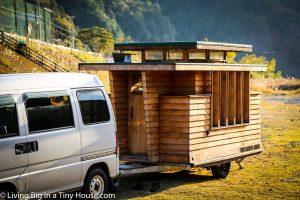 木製キャンピングトレーラー「Baske-T」がLiving Big in a Tiny Houseに登場!
