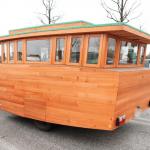 木製キャンピングトレーラーBaske-T 60'S-外観