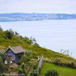 太平洋を望む個性的なタイニーハウス