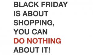 Buy Nothing Day(買い物をしない日)を作ろう