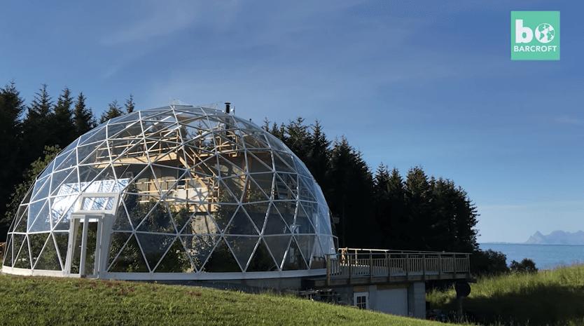 ガラスドームエコハウス