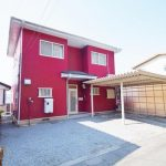 栃木県足利市-中古戸建て-赤い家-外観