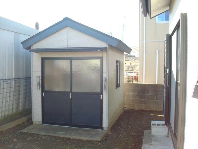 茨城県石岡市-中古戸建て-物置