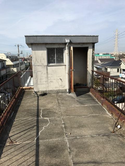 兵庫県神戸市-中古戸建て-屋上