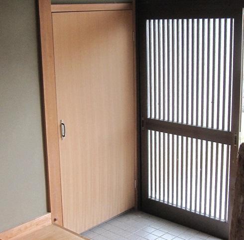 兵庫県篠山市-中古戸建て-玄関