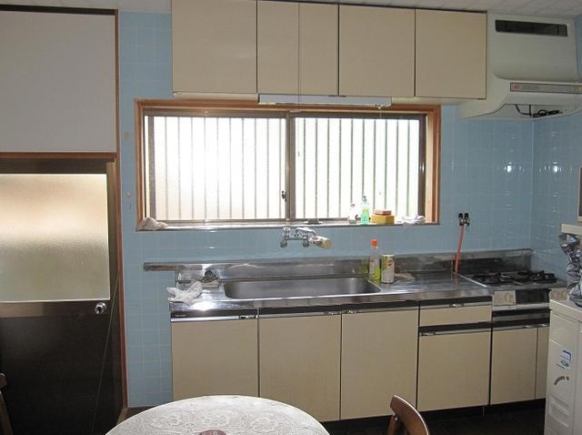 兵庫県篠山市-中古戸建て-キッチン
