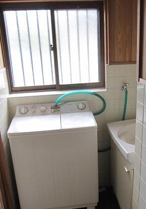 兵庫県篠山市-中古戸建て-洗面所