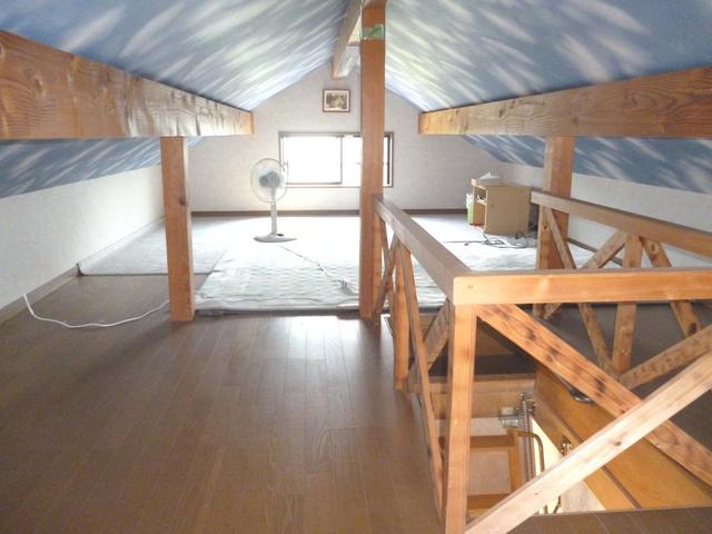 奈良県宇陀市-中古戸建て-屋根裏収納