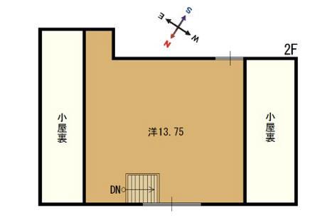 京都府舞鶴市-中古戸建て-海の見える家-間取り