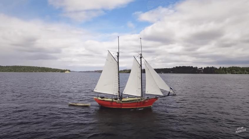 船を作り続ける船長