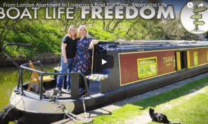 「モノを持たない、無駄のない生活を心掛ける」ボートで暮らす女性