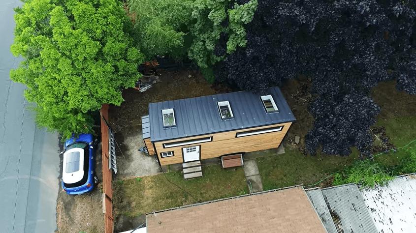 ハンモックロフトのタイニーハウス