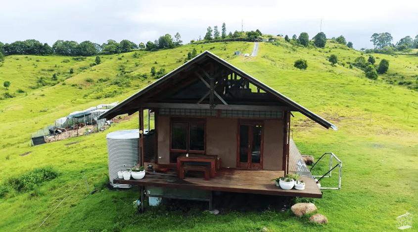 麻で作った家