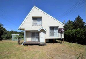 土地90坪。芝生と白くてかわいい家。368万円(茨木)【売却済】