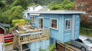 「物の所有は幸せに結びつかない」約755万円で建てた自宅兼オフィスのコンテナハウス
