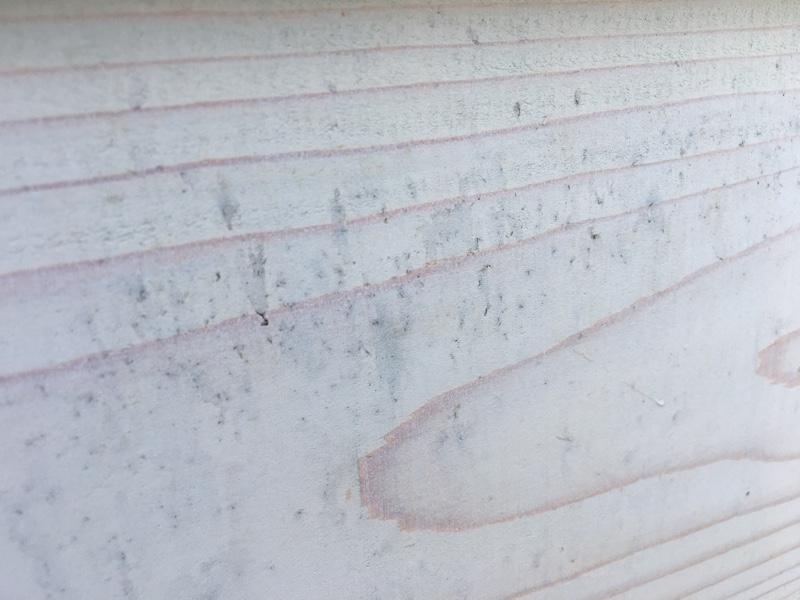 木材の鉄汚染