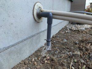 エアコンの排水ホースの防虫カバー(キャップ)
